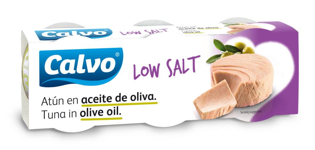 Tuňák volivovém oleji snízkým obsahem soli
