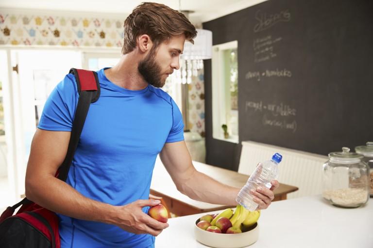 Co jíst před, během apocvičení