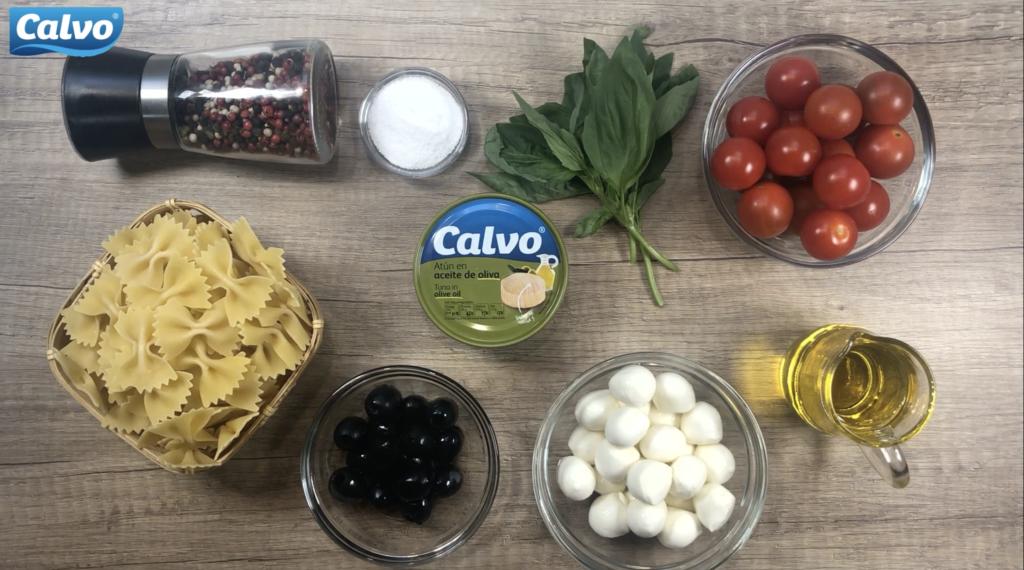 Středomořský těstovinový salát stuňákem