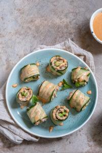 Recept na tuniakové rolky s avokádom