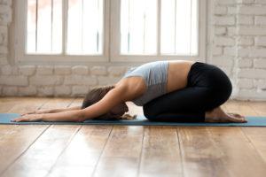 Pozice dítěte, joga cvičení