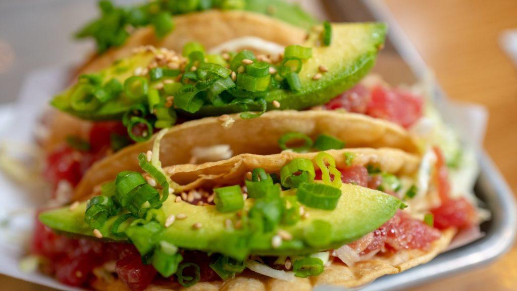 Tuňákové tacos
